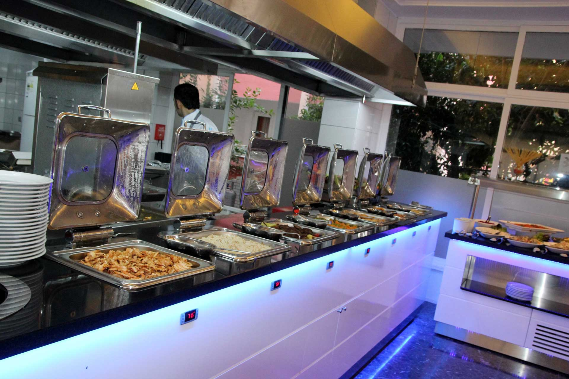 Open Buffet Main Course