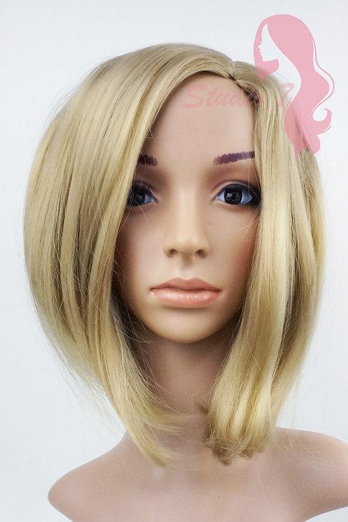 W130 Dark Ash Blonde Mid Length Bob