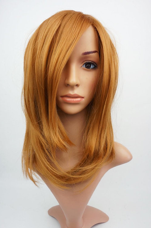 W110 Ginger Mid Length Straight Ladies Wig
