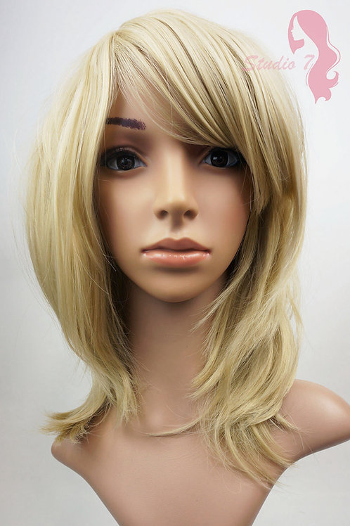 W81 Ash Blonde Medium Length Bob