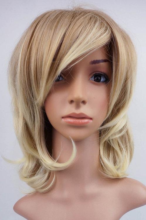 W11 Caramel Blonde Ombre Mix Medium Length