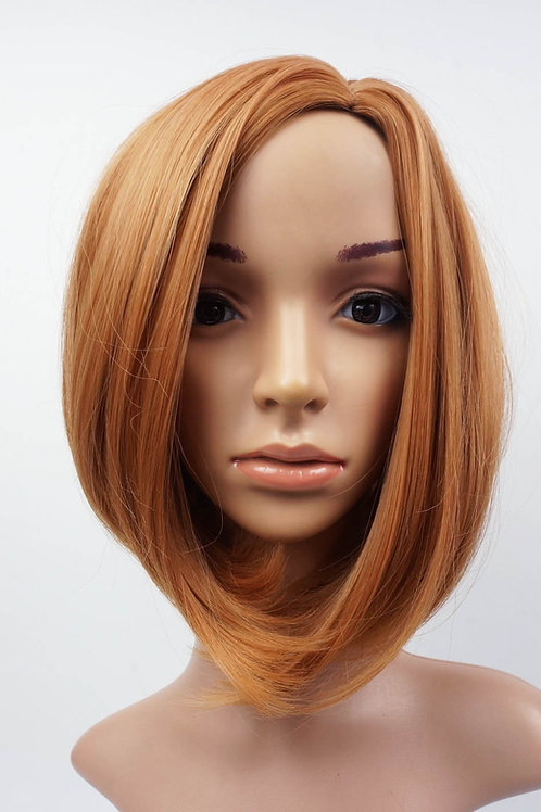 W104 Ginger Mix Mid Length Bob Ladies Wig