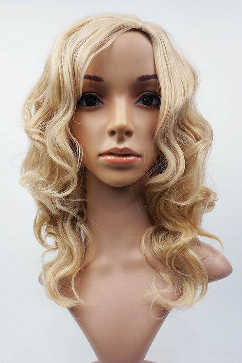 W99 Honey Blonde Mix Wavy Wig