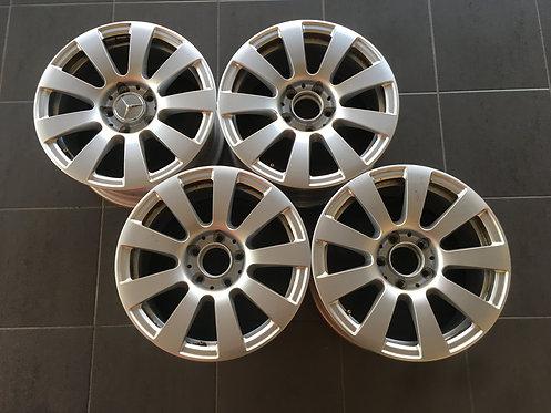 4x Orginal Mercedes Alufelgen, E-Klasse, A2124010102, 7,5x16Zoll, ET45,5