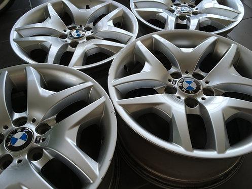 4x Orginal BWM X3 Alufelgen, E83 BMW 18 Zoll, M Felgen, Styling192