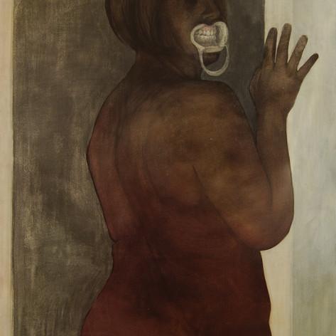 Cheek-Spreader Self Portrait 2