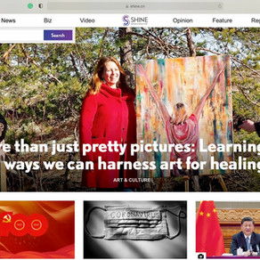 """""""More than just pretty pictures: Learning new ways we can harness art for healing"""""""
