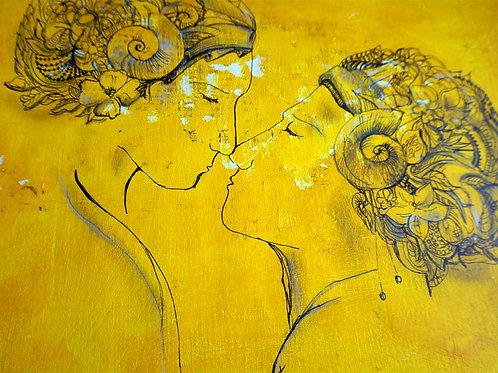 Yellow kiss Bali