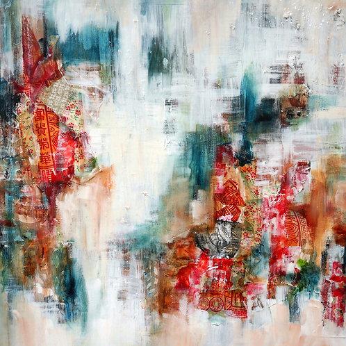 Quinsai abstract Silk Road