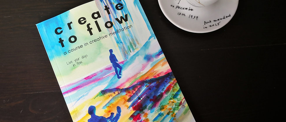 Create to Flow, book