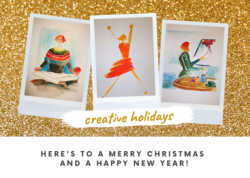 Tips on how to have a creative holiday.