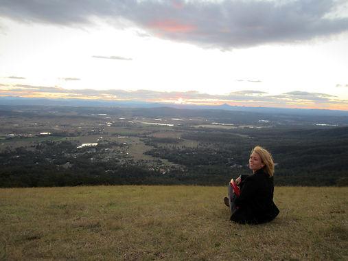 Ingela Johansson on art road trip in Australia