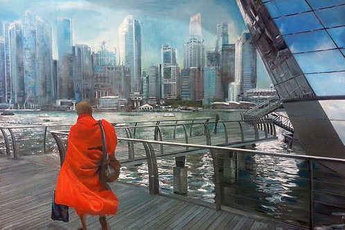 Monk at Louis Vuiton, Limited Edition Print