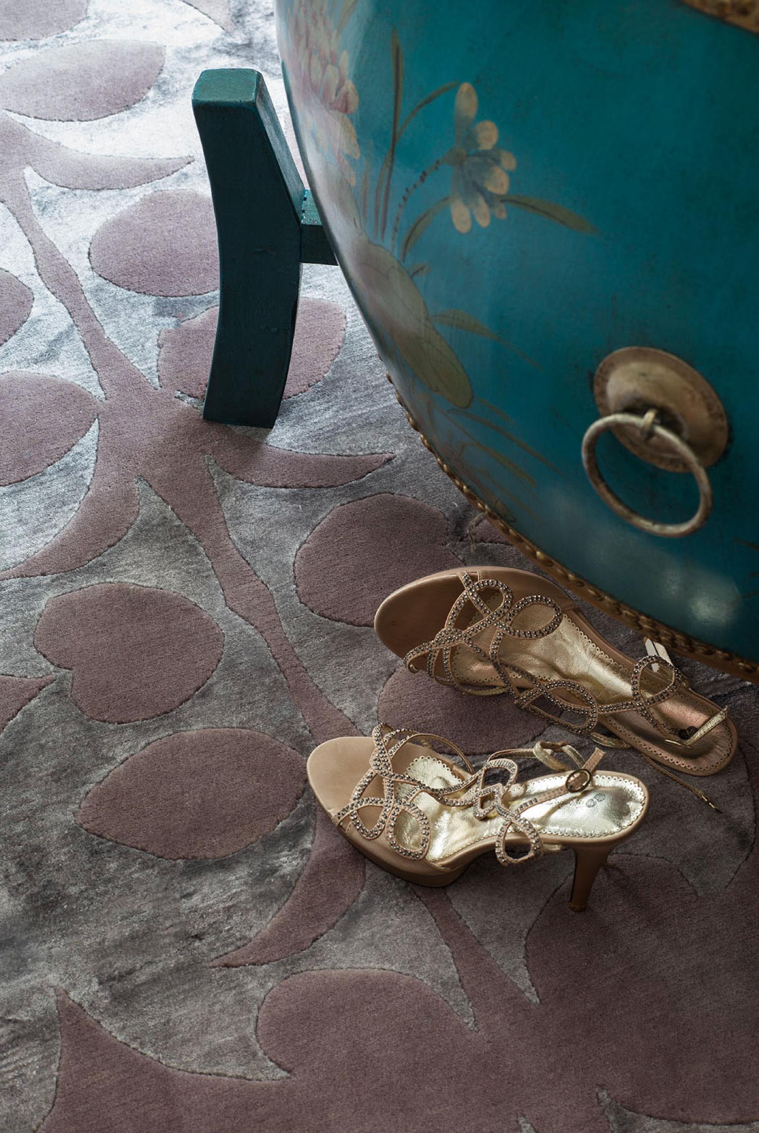 Red Carpet purple heart detail