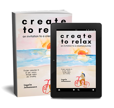 Cover Kindle paperback Create to Relax.p