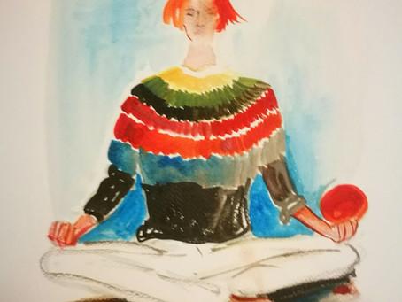 Can you meditate in Prada?