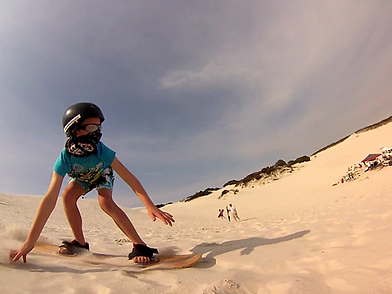 sandboarding cape town kids parties