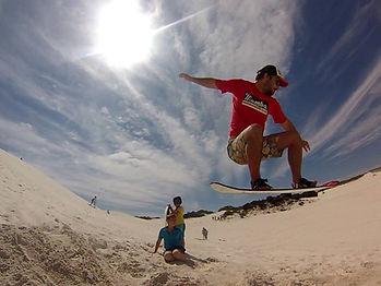mamba sandboarding cape town