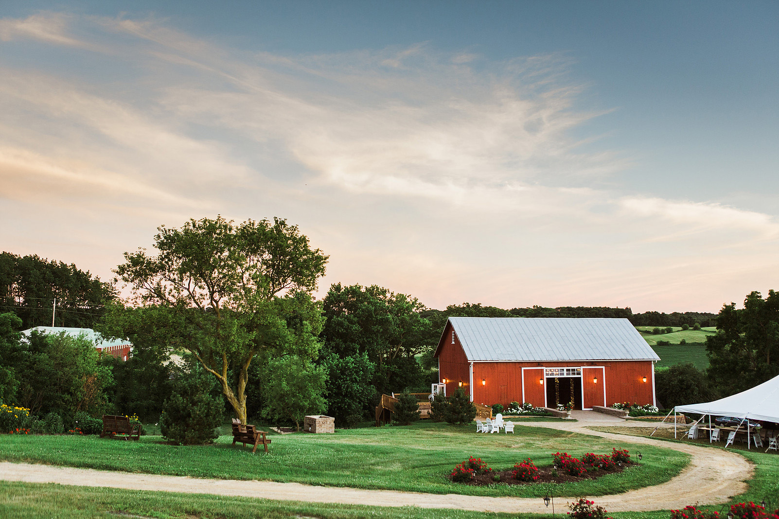 Bridle Barn and Gardens | Historic Wedding Barn in Wisconsin
