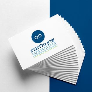 עיצוב לוגו לחברה פננסי שרון גולדנברג