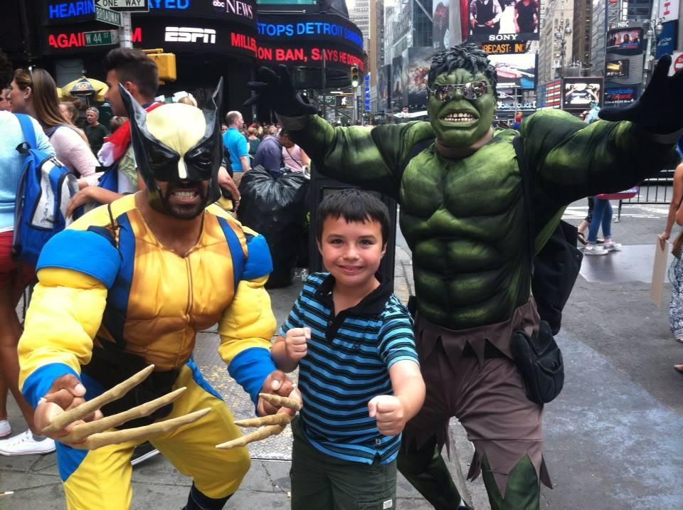 Superhero fun!