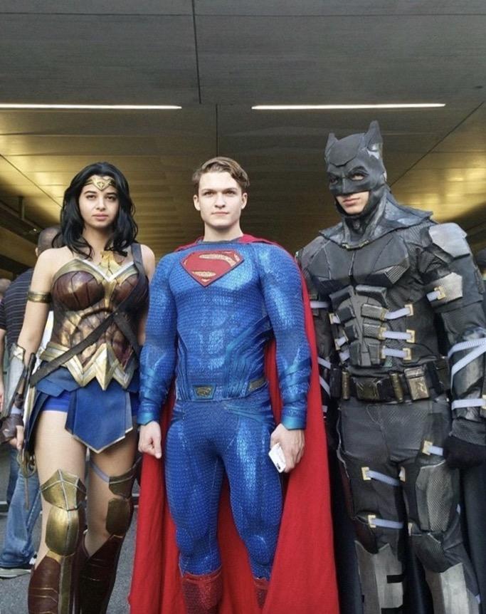 Wonder, Super and Batman!