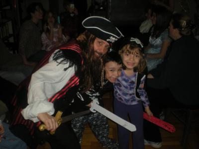 Jack Sparrow & his mates!