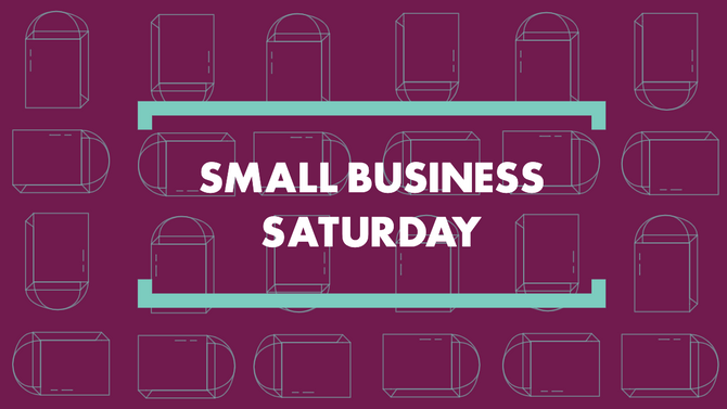 Small Business Saturday - Bucket Edition