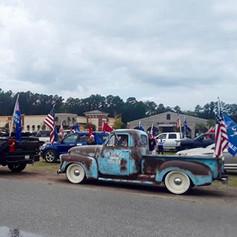 Trump Parade in Bluffton