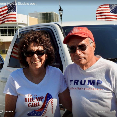 Trump Parade in Bluffton