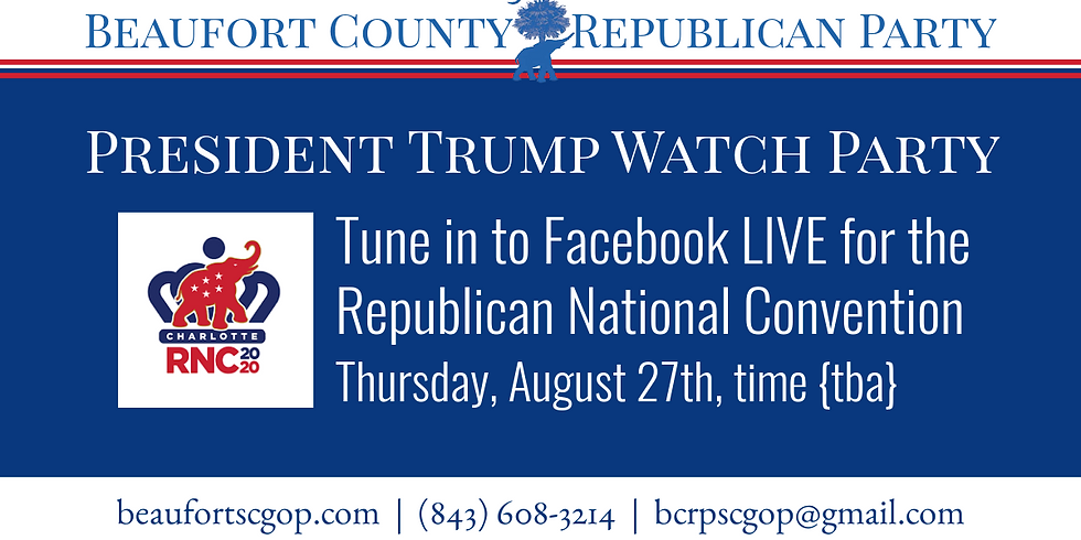 Trump RNC Watch Party