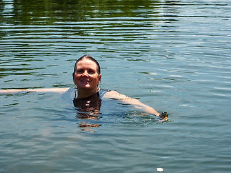 Author, Patricia Hanlon: Swimming to the Top of the Tide