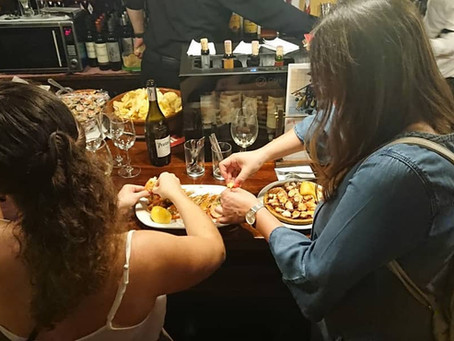 A TAPAS CHEATSHEET (1 : How it's done) - A guide to tapassing in Madrid by Adventurous Appetites.