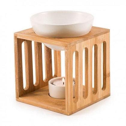 Brûle-parfum en bois de bambou