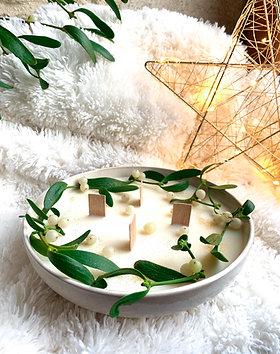 Nouveau Tattered Lace Tidings de joie Couronne Bougies Noël Découpe 447538