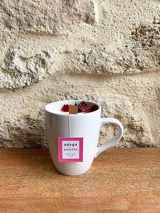 MANTRA - Bougie infusion bois de rose