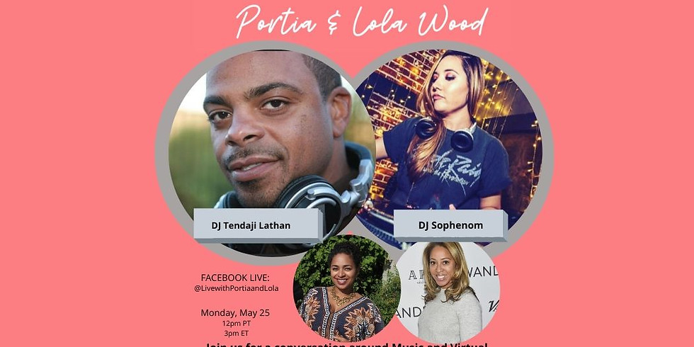 Memorial Day Party with DJ's Tendaji Lathan and Sophenom