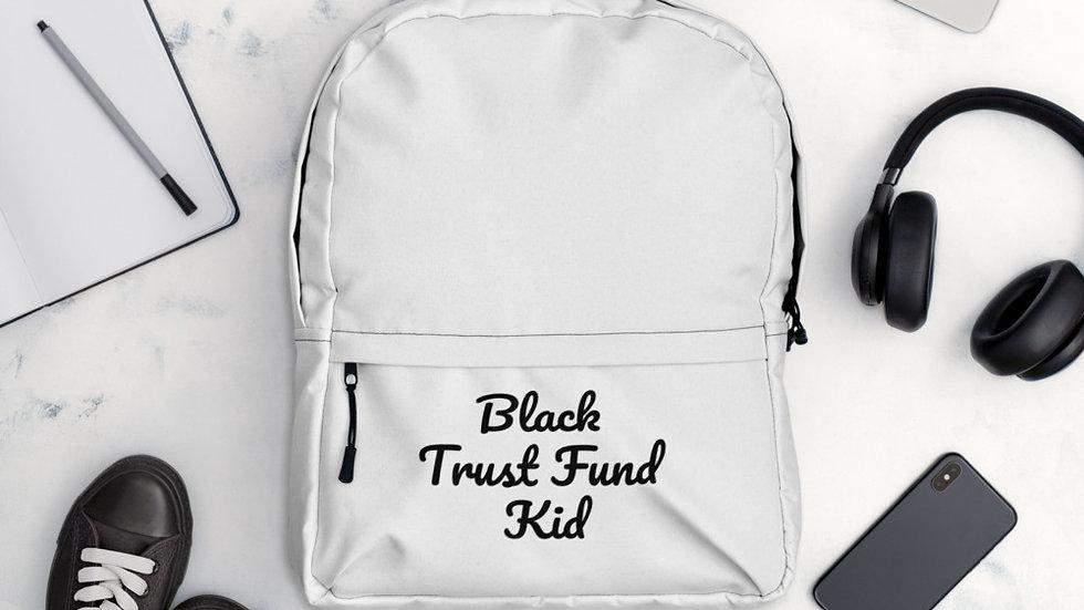Black Trust Fund Kid -Backpack