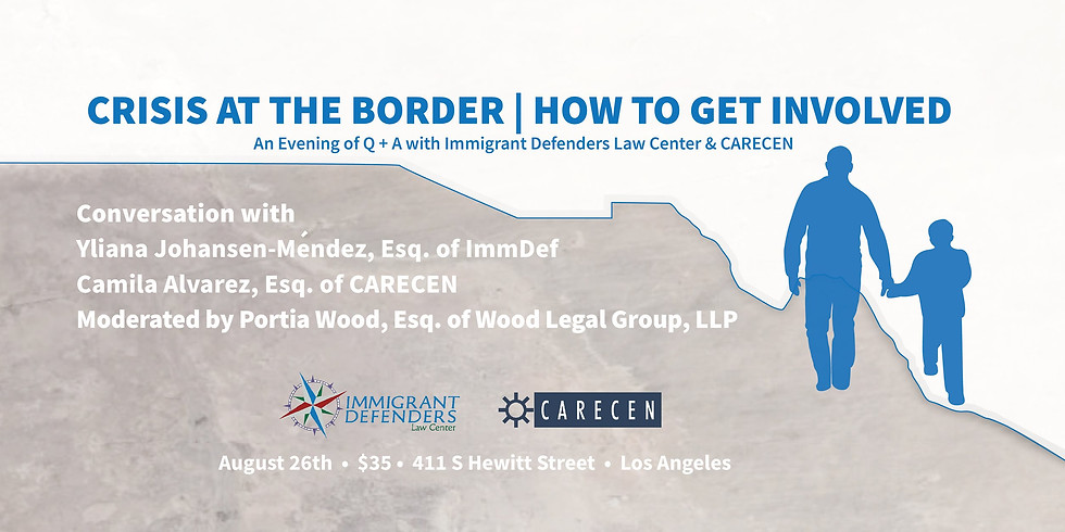 Wood Legal Group Supports: Crisis at the Border: How to Get Involved
