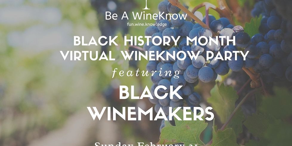 Live with Portia & Lola Presents: A Celebration of Black Winemakers