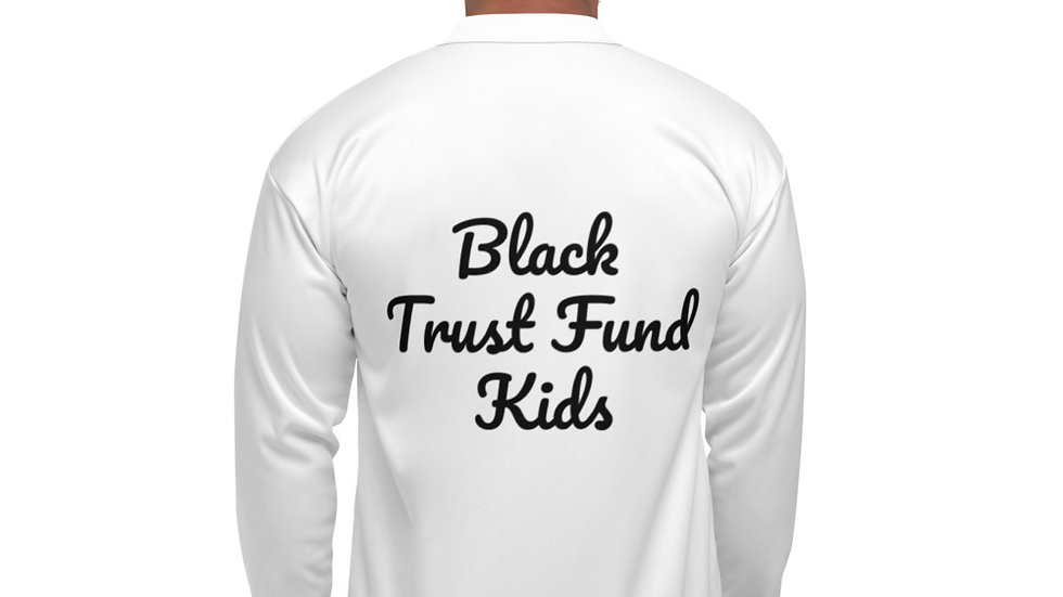 Black Trust Fund Kids - Unisex Bomber Jacket copy