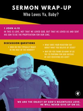 WHO LOVES YA, BABY? | Steve Gudrie