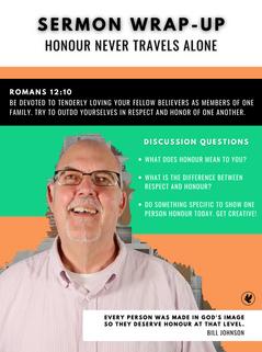 HONOUR NEVER TRAVELS ALONE   Steve Gudrie