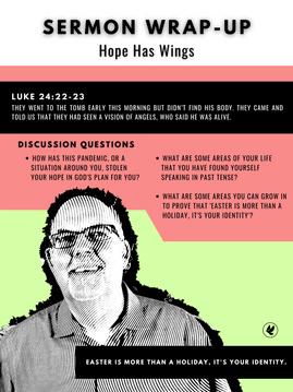 HOPE HAS WINGS | Steve Gudrie