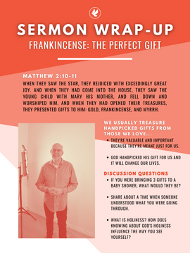 FRANKINCENSE: THE PERFECT GIFT | STEVE GUDRIE