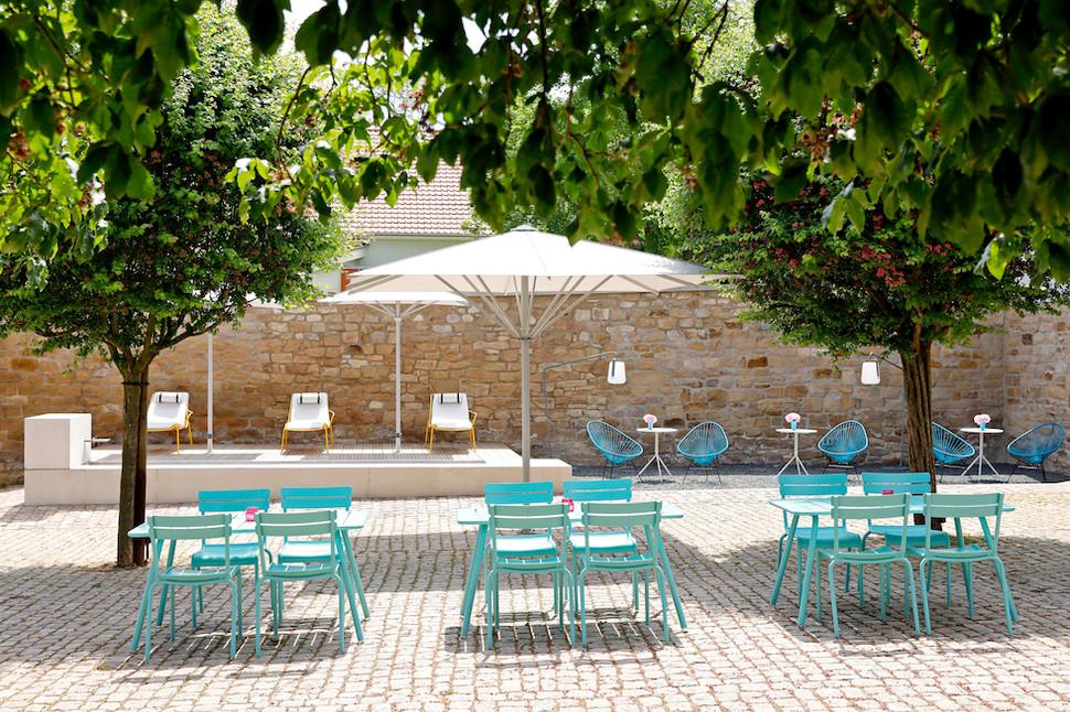STEITZ B&B | Inner Courtyard