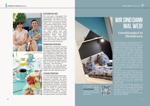 STEITZ VIBES Weinmagazin 01.2020   STEITZ B&B