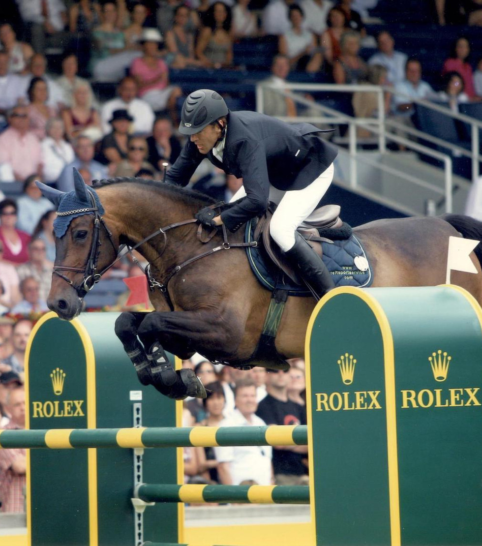 ANDREAS KNIPPLING MIT NEOLISTO | CHIO AACHEN