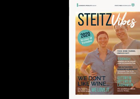 STEITZ VIBES Weinmagazin 01.2020