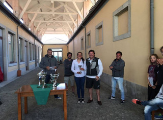 Velejadores do Clube no Podium da 4ª Prova de Apuramento Nacional Classe Laser - Leixões